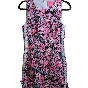 LILLY PULITZER mila shift dress size 2